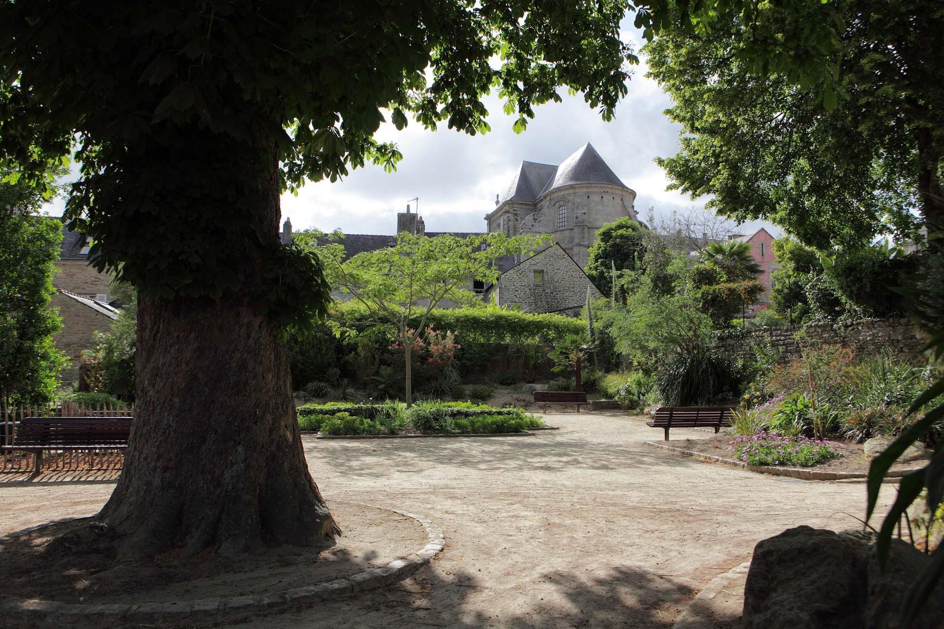 Jardins remarquables ville de quimper for Jardin de la