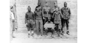 Prisonniers en captivité à la caserne de quimper