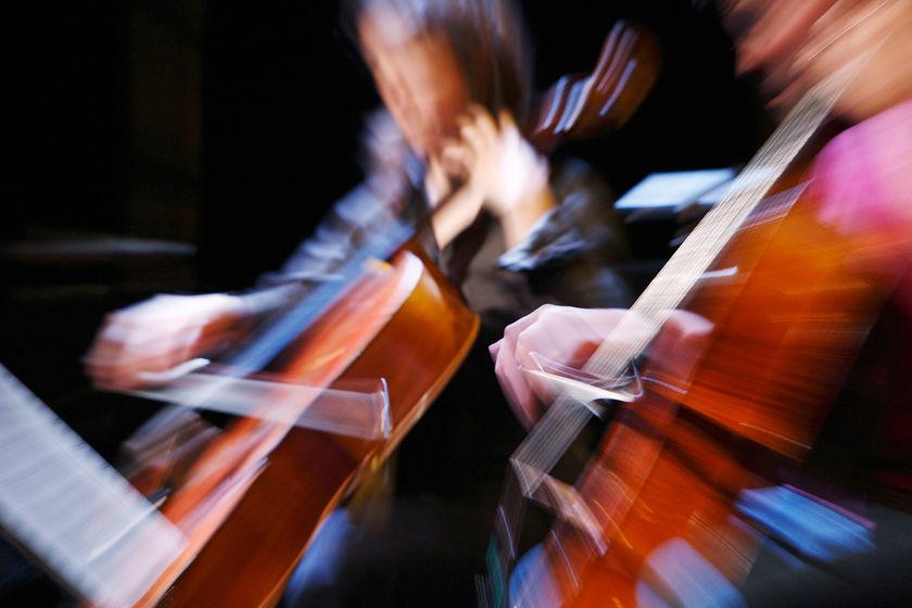 Elèves du conservatoire de musiques et d'art dramatique.