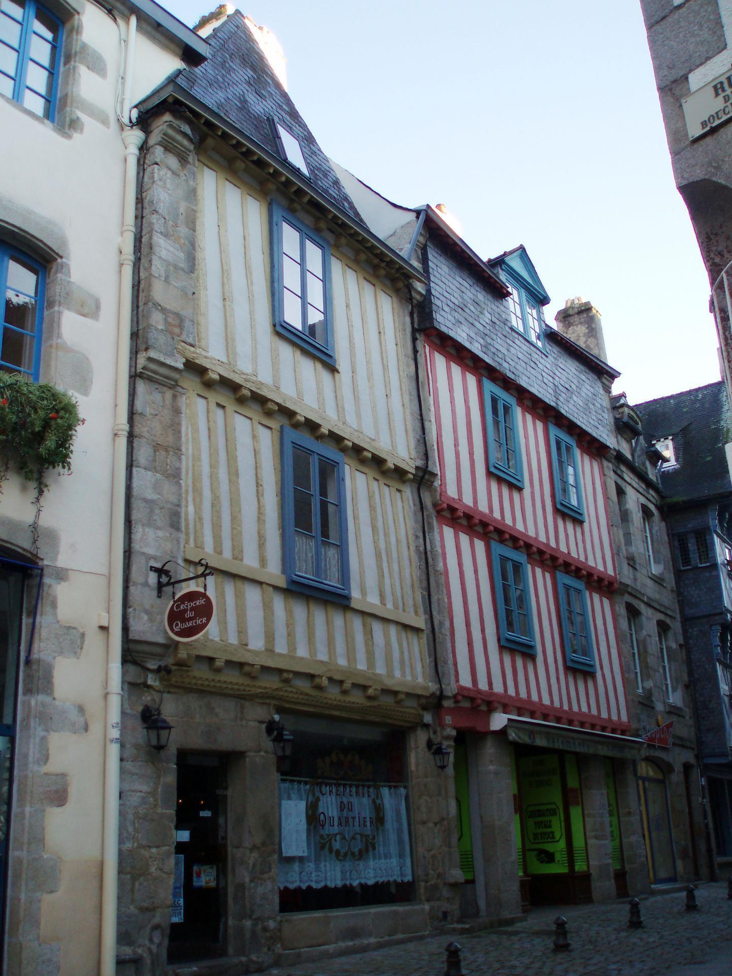 Les Maisons A Pans De Bois Ville De Quimper