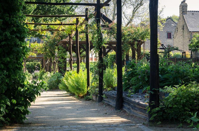 Jardins Remarquables Ville De Quimper