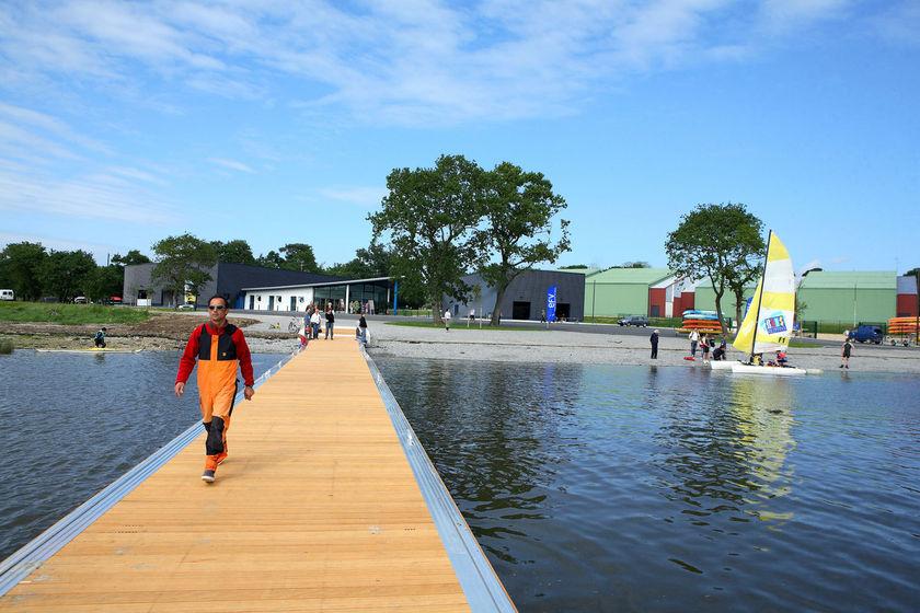 Le parc de loisirs de creac 39 h gwen ville de quimper for Piscine quimper aquarive