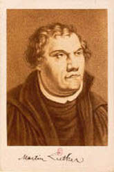 Portrait de Luther