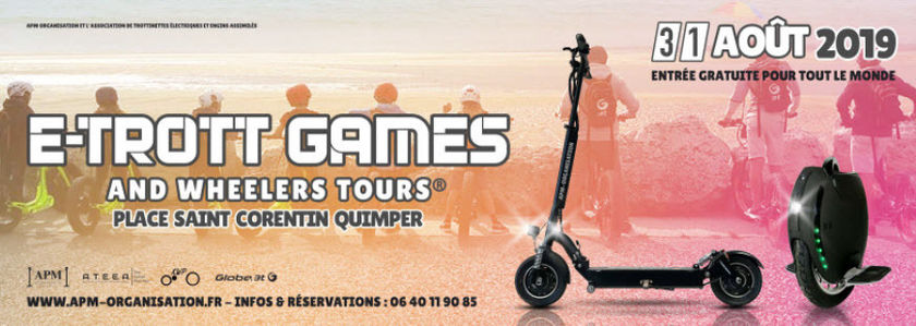 E-Trott Games and wheelers tours