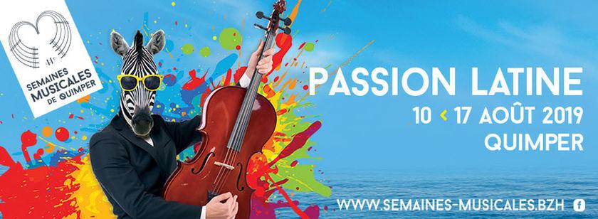 Des Semaines musicales « passion latine »
