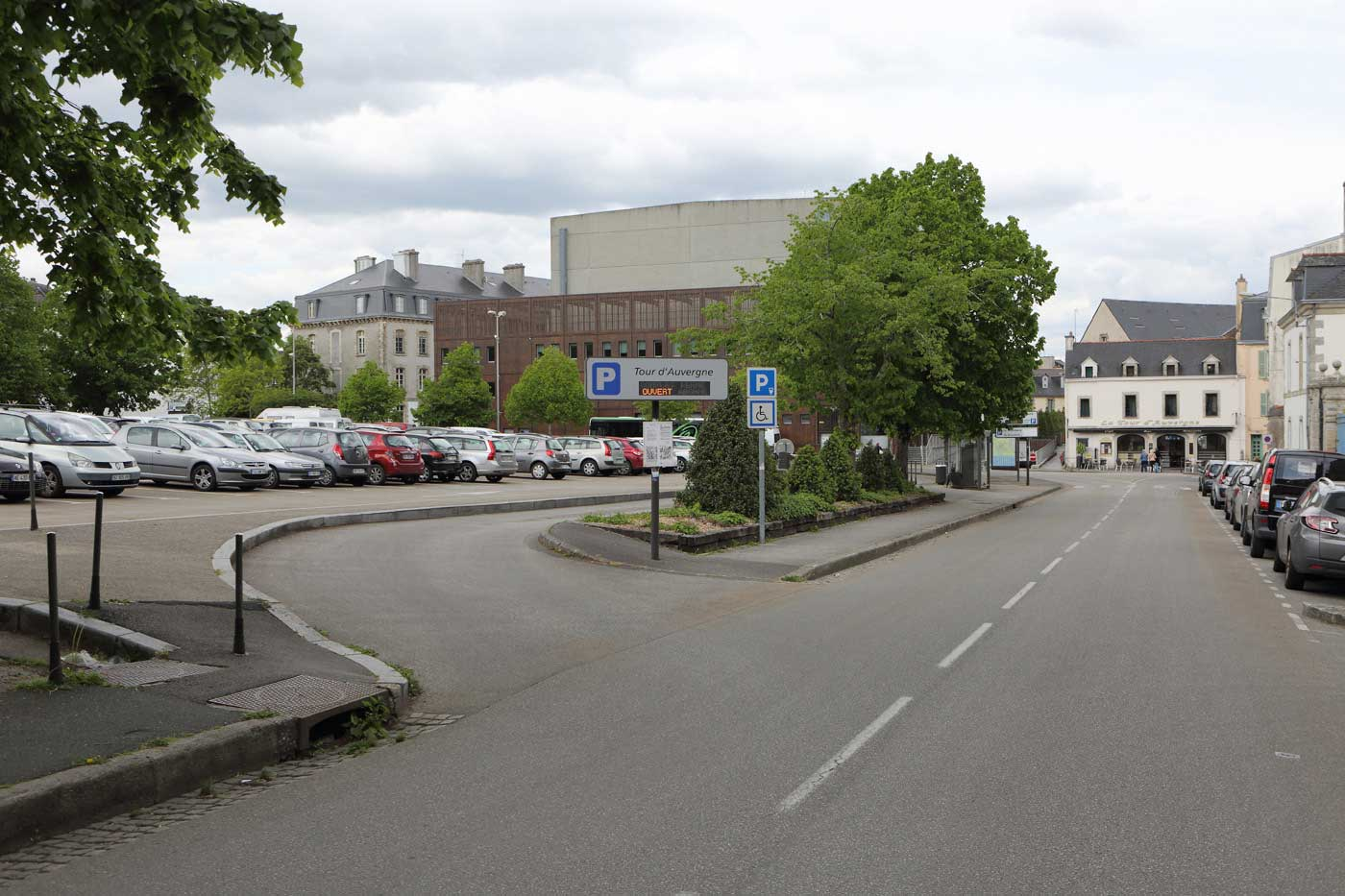 Stationnement et parkings ville de quimper for Piscine quimper